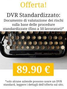 Documento di Valutazione dei Rischi | DVR Standard